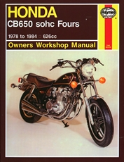 Picture of Honda CB650 SOHC Fours 1978 - 1984 (Haynes Publishing)
