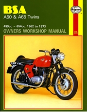 Picture of BSA A50 & A65 Twins 1962 - 1973 (Haynes Publishing)