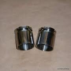 Picture of Polished Stainless Steel Fork Seal Holders Triumph Pre Unit Oil Seal Holders (-1959).