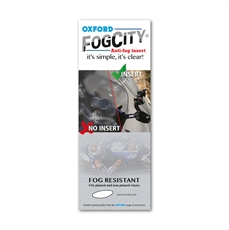Picture of FogCity Clear anti fog insert