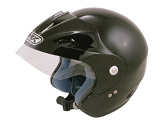 Picture of Box JX-1 Open face Helmet Black
