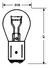 Picture of Bulb 12V 21/5W