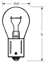 Picture of Bulb 12V 21W