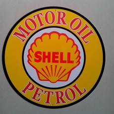 Picture of Metal Sign (Shell)