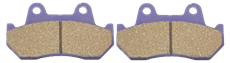 Picture of HONDA FRONT BRAKE PADS