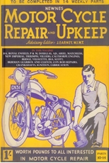 Picture of Motorcycle Repair and Upkeep Volume 3