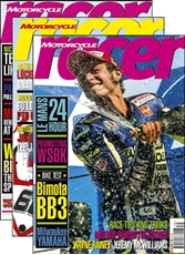 Picture of Motorcycle Racer Magazine 3 Issue Subscription