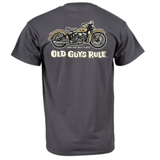 Picture of Old Guys Rule - Panhead T-Shirt