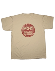 Picture of NGK Sparkplugs T-Shirt (Hot Fuel)