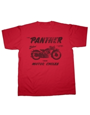 Picture of Panther Model 100/120 Motorcycle T-Shirt (Hot Fuel)