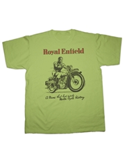 Picture of Royal Enfield Motorcycle T-Shirt (Hot Fuel)