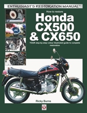 Picture of How to restore Honda CX500 & CX650