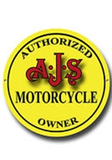 Picture of Authorised AJS Owner Metal Sign