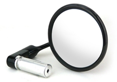 Picture of 8305 Black Chrome Bar End Mirror