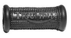 Picture of Triumph kickstart rubber - all models except Tiger Cub. Closed End and Embossed.