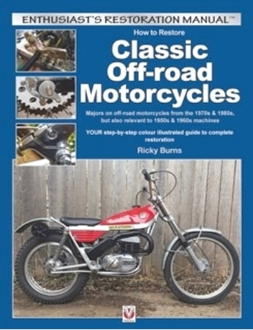 Picture of How to Restore Classic Off-Road Motorcycles