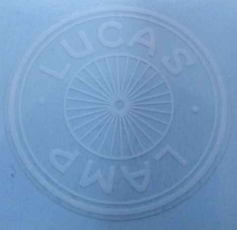 Picture of Lucas H/Lamp Glass