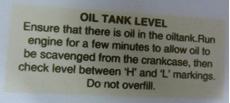 Picture of Norton Oil Tank