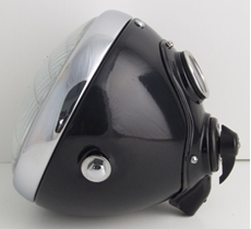 """Picture of SSU700 7"""" Complete headlamp painted - Lucas"""