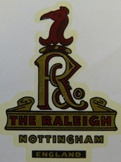 Picture of Raleigh rear mudguard etc