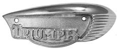 Picture of Tank Badge Triumph  - T90/T100/T120 (1966-68). (Pair)