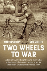 Picture of Two Wheels To War Martin and Nick Shelley