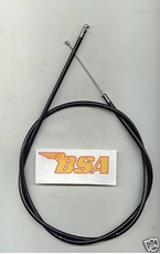 Picture of THROTTLE CABLE - BSA A7/A10