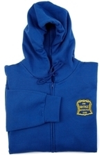 Picture of VMCC Hooded Zip Sweat Top-Royal (L)